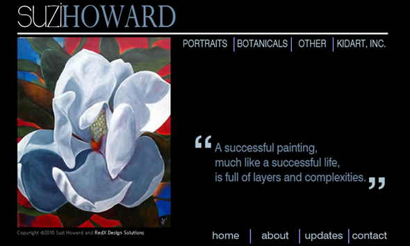 suzi howard website