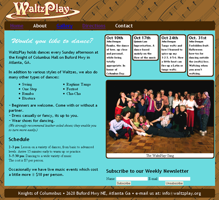 waltzplay website